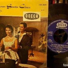 Discos de vinilo: DER STERN VON SANTA CLARA. Lote 208869548