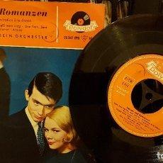 Discos de vinilo: TANZEN UND ROMANZEN - MAX GREGER UND SEIN ORCHESTER. Lote 208869803
