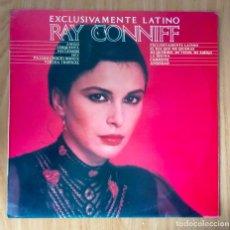 Discos de vinilo: RAY CONNIFF - EXCLUSIVAMENTE LATINO - 1980 CBS LP // S-84780. Lote 208484832