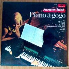 Discos de vinilo: JAMES LAST - PIANO A GOGO - 1972 POLYDOR LP // 249165. Lote 208485393