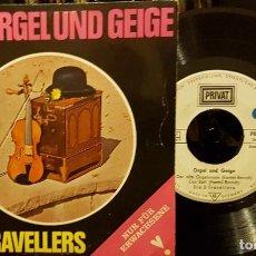 Discos de vinilo: ORGEL UND GEIGE DIE 3 TRAVELLERS. Lote 208870015