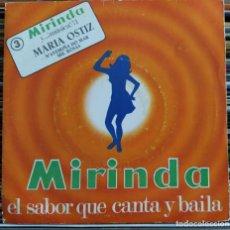 "Disques de vinyle: MARIA OSTIZ - N' AVERIÑA DO MAR / MIL ROSAS (7"") (MIRINDA Y...¡MUSICA!) 71-3 (D:VG+). Lote 208871176"