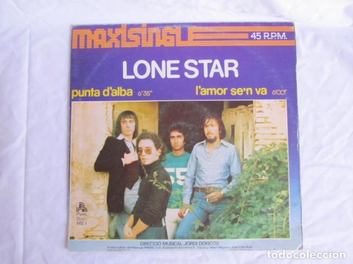 Discos de vinilo: Maxisingle vinilo Lone Star, Punta dalba lamor sen va 1977 - Foto 2 - 208872000