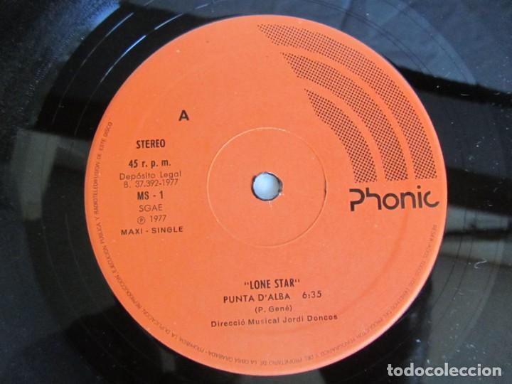 Discos de vinilo: Maxisingle vinilo Lone Star, Punta dalba lamor sen va 1977 - Foto 5 - 208872000