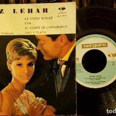 Discos de vinilo: FRANZ LEHAR - LA VIUDA ALEGRE. Lote 208872256