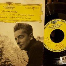 Discos de vinilo: JOHANNES BRAHMS BERLINER PILBARMONIKER - HERBERT VON KARAJAN. Lote 208872995