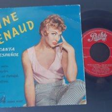 Discos de vinilo: LINE RENAUD. CANTA EN ESPAÑOL. BUONA SERA. +3. SPAIN. 1958. Lote 208875405