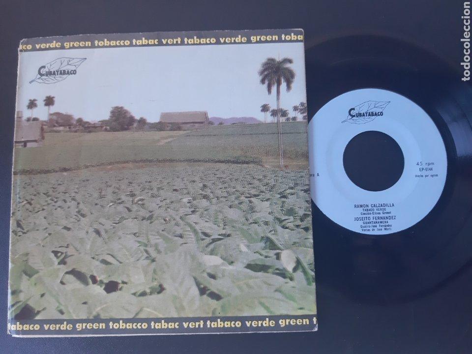 CUBATABACO. OMARA PORTUONDO., ORQUESTA ARAGON, RAMON CALZADILLA, JOSEITO FERNANDEZ. (Música - Discos de Vinilo - EPs - Otros estilos)