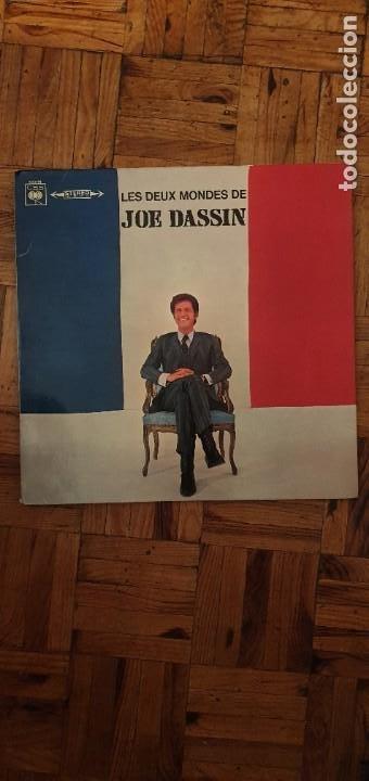 JOE DASSIN ?– LES DEUX MONDES DE JOE DASSIN SELLO: CBS ?– S 63194 FORMATO: VINYL, LP, ALBUM, STEREO, (Música - Discos - LP Vinilo - Canción Francesa e Italiana)