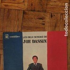 Discos de vinilo: JOE DASSIN ?– LES DEUX MONDES DE JOE DASSIN SELLO: CBS ?– S 63194 FORMATO: VINYL, LP, ALBUM, STEREO,. Lote 208877130