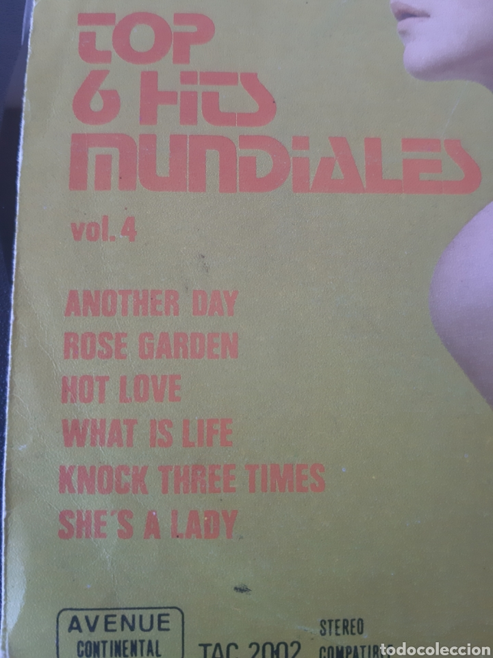 Discos de vinilo: TOP 6 HITS MUNDIALES. ANOTHER DAY. P. McCARTNEY, WHAT IS LIFE. G. HARRISON. SHEs A LADY. P. ANKA.. - Foto 3 - 208877465