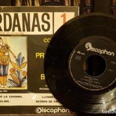 Dischi in vinile: SARDANAS 1 COBLA LA PRINCIPAL DE LA BISBAL. Lote 208877615