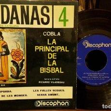 Discos de vinilo: SARDANAS 4 - LA PRINCIPAL DE LA BISBAL. Lote 208877830