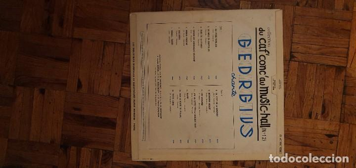 Discos de vinilo: Georgius ?– Du Cafconc Au Music-Hall N° 12 Georgius Sello: Pathé ?– 2c 054 15286 Formato: Vinyl - Foto 2 - 208877831