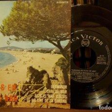 Discos de vinilo: SARDANAS DE PLAYA DE ARO - GERMANOR - CARA AL MAR - SOTA EL MAS VENTOS. Lote 208878003