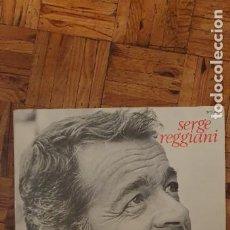 Discos de vinilo: SERGE REGGIANI ?– SERGE REGGIANI SELLO: POLYDOR ?– 2473 018 FORMATO: VINYL, LP, ALBUM, STEREO, GATEF. Lote 208878126