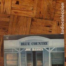 Discos de vinilo: JOE DASSIN ?– BLUE COUNTRY SELLO: CBS ?– CBS 84029 FORMATO: VINYL, LP, ALBUM PAÍS: FRANCE. Lote 208878805