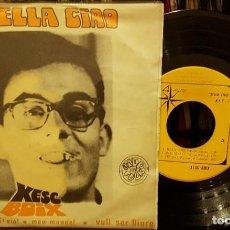 Discos de vinilo: BELLA CIAO - XESC BOIX. Lote 208879927