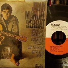Discos de vinilo: JOAN MANUEL SERRAT - CANÇÓ DE MATINADA. Lote 208880107