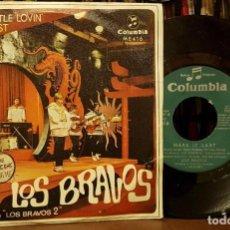 Discos de vinil: LOS BRAVOS BRING A LITTLE LOVIN - BANDA ORIGINAL DE LA PELICULA LOS BRAVOS 2. Lote 208881127