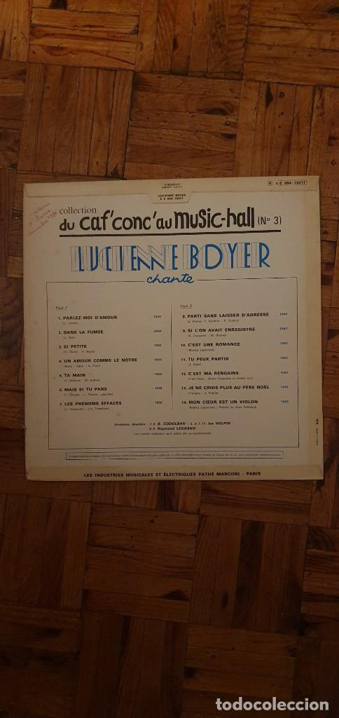 Discos de vinilo: Lucienne Boyer ?– Lucienne Boyer Chante Sello: Pathé ?– 2C 054 15277 Serie: Du Caf Conc Au Music - Foto 2 - 208887113