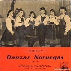 Discos de vinilo: DANZAS NORUEGAS OP.35 ORQUESTA FILARMONIA WALTER SUSSKIND. Lote 208890675