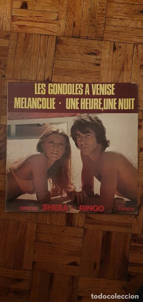 SHEILA - RINGO ?– SPÉCIAL SHEILA - RINGO SELLO: CARRERE ?– 67.015 FORMATO: VINYL, LP, COMPIL (Música - Discos - LP Vinilo - Canción Francesa e Italiana)