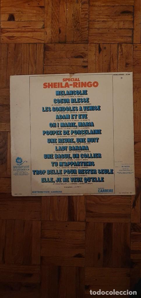 Discos de vinilo: Sheila - Ringo ?– Spécial Sheila - Ringo Sello: Carrere ?– 67.015 Formato: Vinyl, LP, Compil - Foto 2 - 208890683