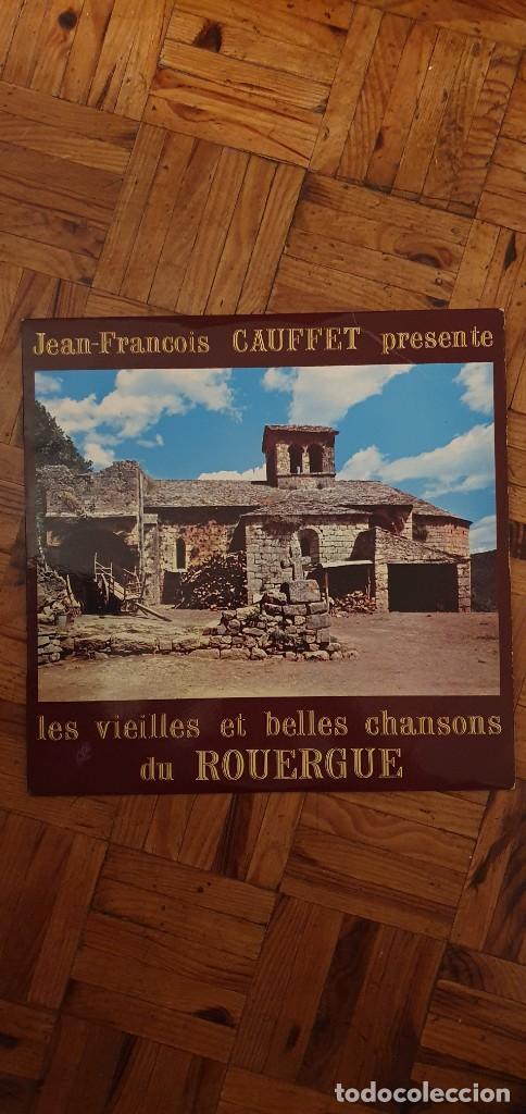 LES VIEILLES ET BELLES CHANSONS DU ROUERGUE ARTIST JEAN-FRANÇOIS GAUFFET (Música - Discos - LP Vinilo - Canción Francesa e Italiana)