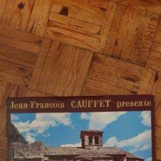 Discos de vinilo: LES VIEILLES ET BELLES CHANSONS DU ROUERGUE ARTIST JEAN-FRANÇOIS GAUFFET. Lote 208891071