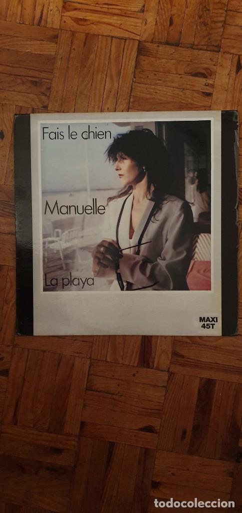 MANUELLE – FAIS LE CHIEN SELLO: CARRERE – 8176 FORMATO: VINYL, 12 PAÍS: FRANCE PUBLICADO: 1982 (Música - Discos de Vinilo - Maxi Singles - Canción Francesa e Italiana)