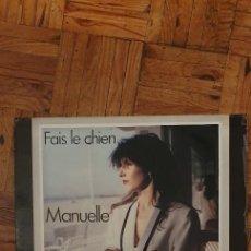 Discos de vinilo: MANUELLE – FAIS LE CHIEN SELLO: CARRERE – 8176 FORMATO: VINYL, 12 PAÍS: FRANCE PUBLICADO: 1982. Lote 208891445