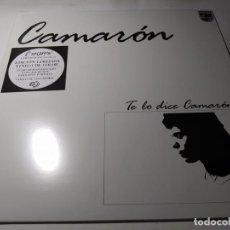 Dischi in vinile: LP - CAMARÓN – TE LO DICE CAMARÓN - E. ESP. LIMITADA - BLANCO Y NEGRO ¡¡ NUEVO!!. Lote 208892495