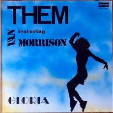 Discos de vinilo: THEM FEAT. VAN MORRISON : GLORIA [ESP 1989] LP/RE. Lote 208908235