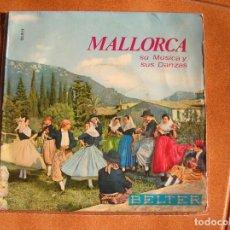 Disques de vinyle: SINGLE DE MUSICA LOCAL MALLORQUINA. Lote 208908690