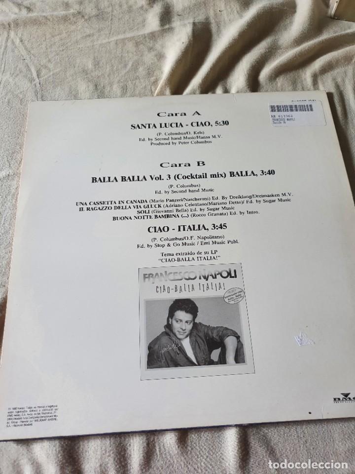 Discos de vinilo: francesco napoli - Foto 2 - 208914245