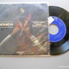 Disques de vinyle: MONICA *VOLVERE MAÑANA* SINGLE 1971 VG+/EX. Lote 208925315