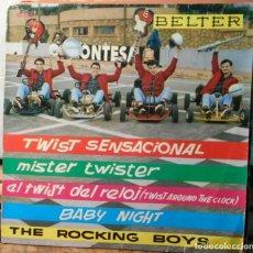 Discos de vinil: THE ROCKING BOYS TWIST SENSACIONAL + E BELTER SPAIN 1962. Lote 208940548