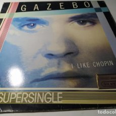 Discos de vinilo: MAXI - GAZEBO – I LIKE CHOPIN - BRA A 12.3549 ( VG+ / VG+ ) SPAIN 1983. Lote 208941403