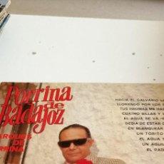 Discos de vinilo: BAL-7 DISCO VINILO 12 PULGADAS PORRINA DE BADAJOZ MARQUES DE PORRINA HACIA EL CALVARIO LO LLEVAN. Lote 208955166