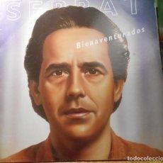 Discos de vinilo: SERRAT BIENAVENTURADOS LP ARIOLA SPAIN 1987. Lote 208957363