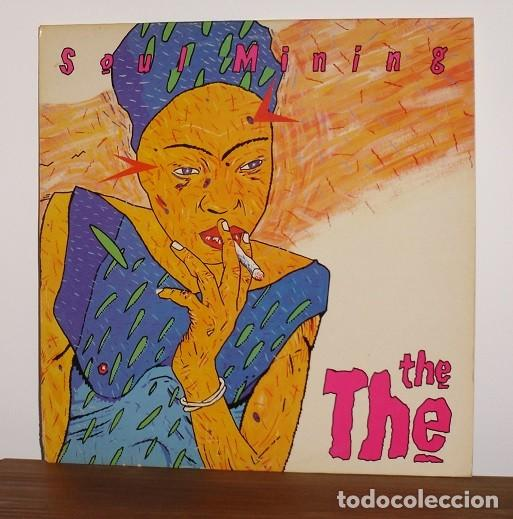 THE THE - SOUL MINING (LP) DISCO DE VINILO - 1983 (Música - Discos - LP Vinilo - Pop - Rock - New Wave Extranjero de los 80)
