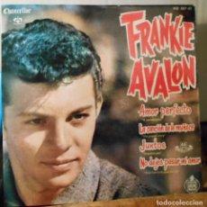 Discos de vinilo: FRANKIE AVALON AMOR PERFECTO +3 EP HISPAVOX SPAIN 1961 EX / EX. Lote 208969863