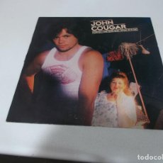Discos de vinilo: JOHN COUGAR, NOTHIN MATTERS AND WHAT IF IT DID, 1980, ED AMERICANA. Lote 208972120