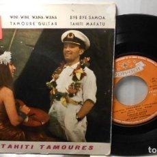 Discos de vinilo: LOS TAHITI TAMOURES WINI WINI WANA WANA +3 EP POLYDOR SPAIN 1963. Lote 208972557