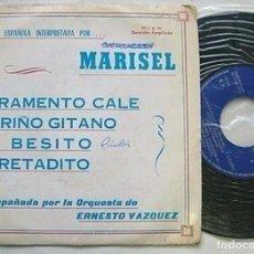 """Discos de vinilo: MARISEL 7"""" SPAIN 45 EP JURAMENTO CALE + 3 SINGLE VINILO ORIGINAL PROMOCIONAL 1973 MAMBO CHA CHA CHA. Lote 208974101"""