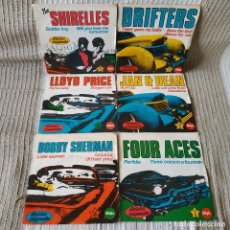 Discos de vinilo: LOTE DE 6 SINGLES THE SHIRELLES / THE DRIFTERS / LLOYD PRICE / JAN & DEAN + 2 SPAIN K-TEL 1981. Lote 208974951
