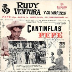 Discos de vinilo: RUDY VENTURA Y SU CONJUNTO *** CANTINFLAS PEPE. Lote 208977221
