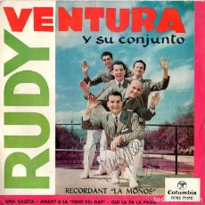 Discos de vinilo: RUDY VENTURA Y SU CONJUNTO *** RECORDANT LA MOÑOS. Lote 208977551