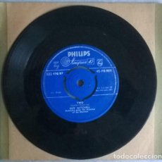 Disques de vinyle: GUY MITCHELL. TWO/ HEARTACHES BY THE NUMBER. PHILLIPS, UK 1959 SINGLE. Lote 208981525